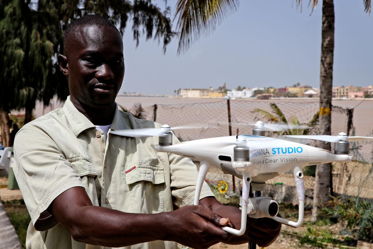pilote drone video dakar senegal madyana new vision - Drone Pilot Senegal